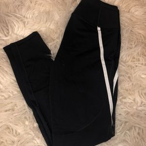 VSX Black and mesh leggings